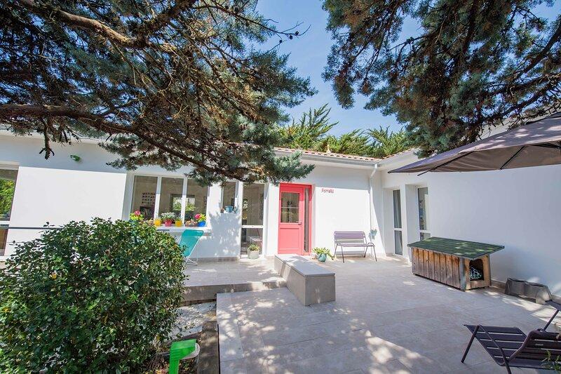 Spacious house with garden & Wifi, alquiler vacacional en Pyla-sur-Mer