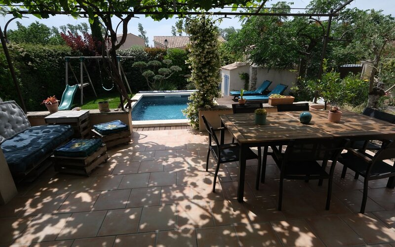 LS1-379 Agréable maison familiale pour 6 personnes à Paradou, Alpilles, location de vacances à Paradou