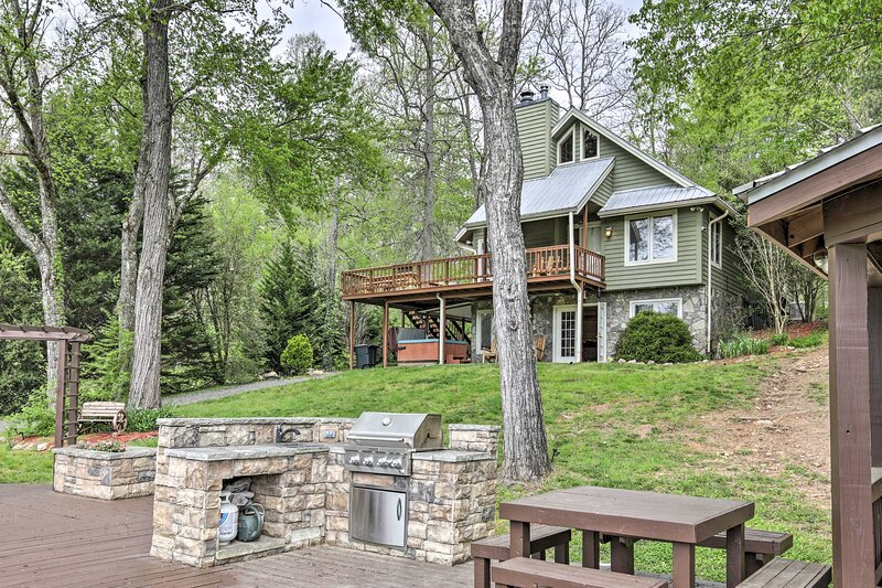 NEW! Supreme Getaway in Chattahoochee Nat'l Forest, holiday rental in Culberson