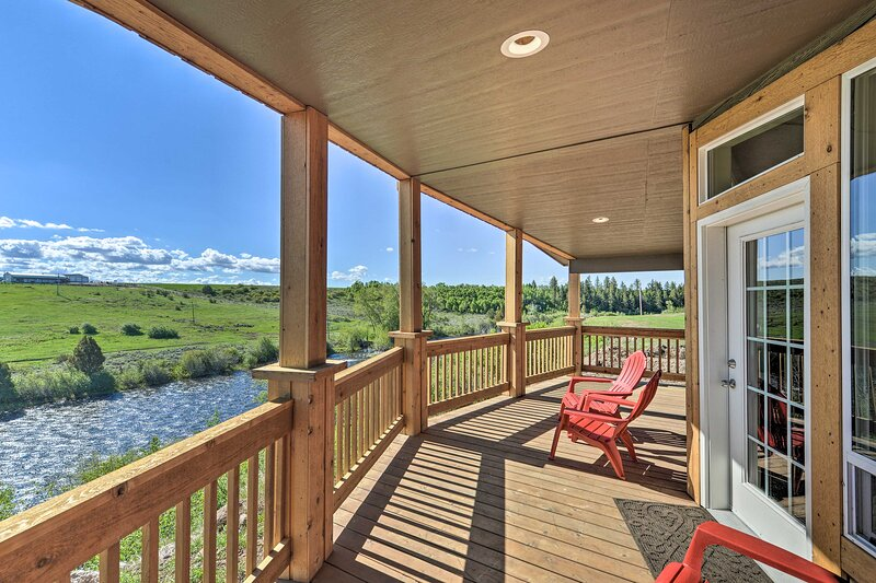 NEW! Griffel River Ranch - An Angler's Dream!, holiday rental in Parker