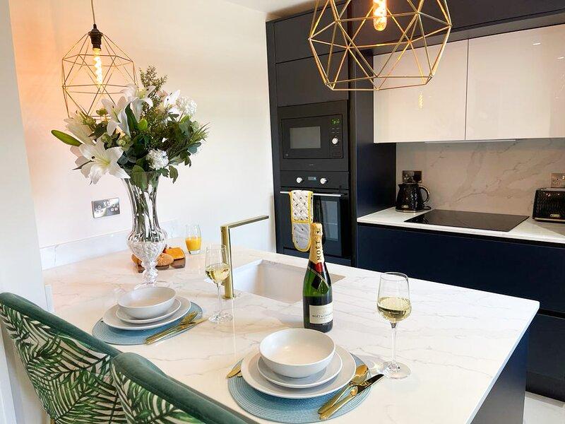 Luxury New Build with under floor heating, holiday rental in Highmoor Cross