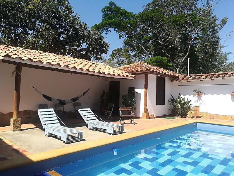 Casa Sanalejo, location de vacances à Socorro