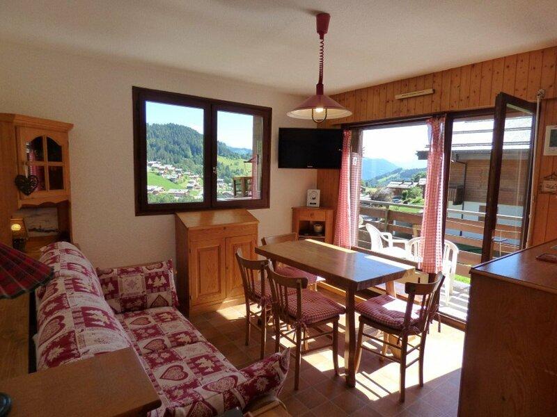 Magnifique 4 pièces - 52m² - 6 personnes, location de vacances à Le Petit-Bornand-les-Glières