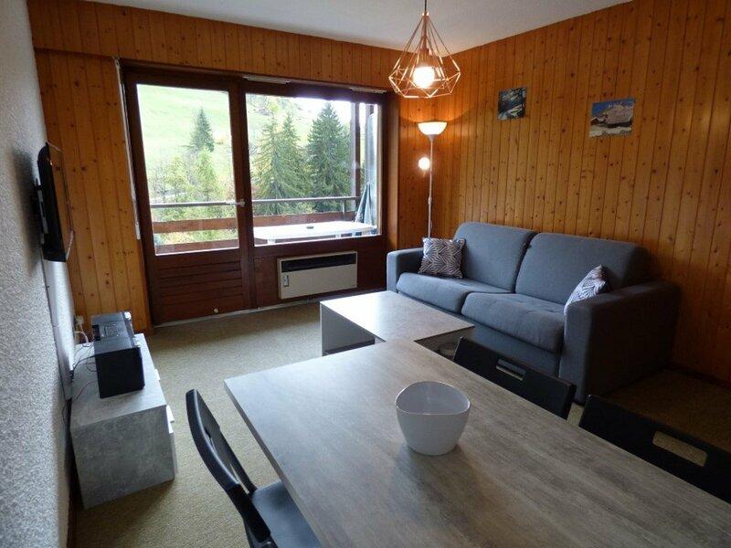 Confortable logement de 25m² pour 4 personnes, location de vacances à Le Petit-Bornand-les-Glières