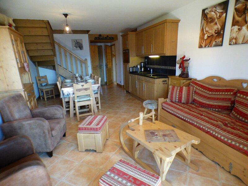SECTEUR BISANNE 1500 - duplex de 4 pièces 3 chambres de 75 + 10 m2 orienté sud, location de vacances à Albertville