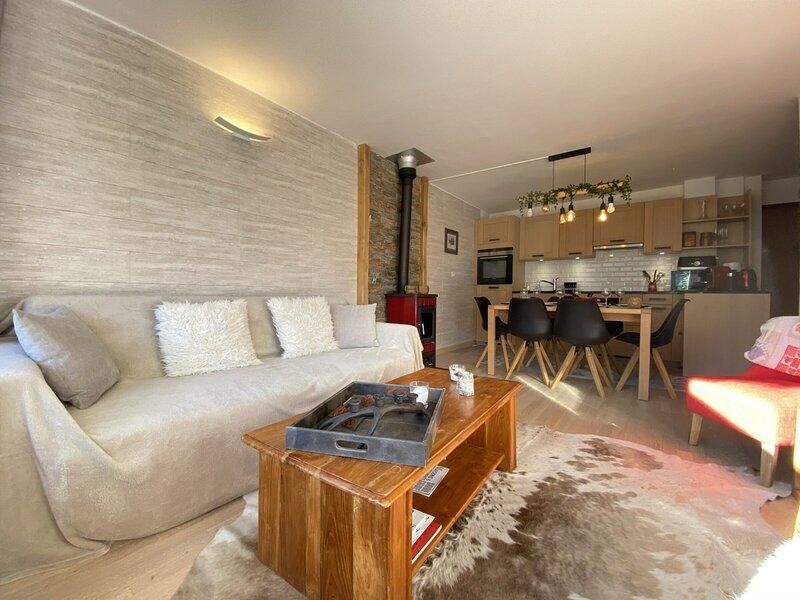 Appartement 4 pièces 8 couchages PRAZ SUR ARLY, location de vacances à Praz Sur Arly