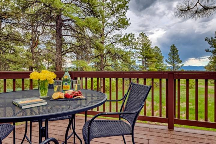NEW! Spacious 3BR Home-Close To All Amenities-Large Deck w/Views/Forested on 3 A, alquiler de vacaciones en Pagosa Springs