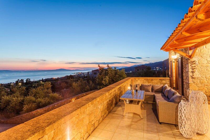 Mani Panoramic Seaviews - Luxury Summer Haven, holiday rental in Limeni