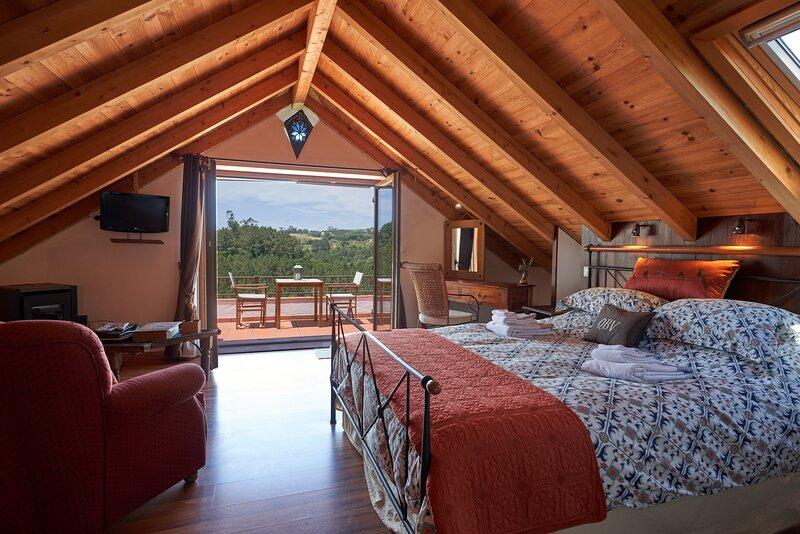 Adriatic at Quinta do Bom Vento, Queen loft studio, holiday rental in A Dos Francos