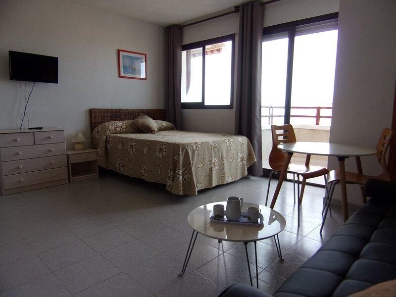 Estudio ideal para parejas.Magnificas vistas al mar, holiday rental in Oropesa Del Mar