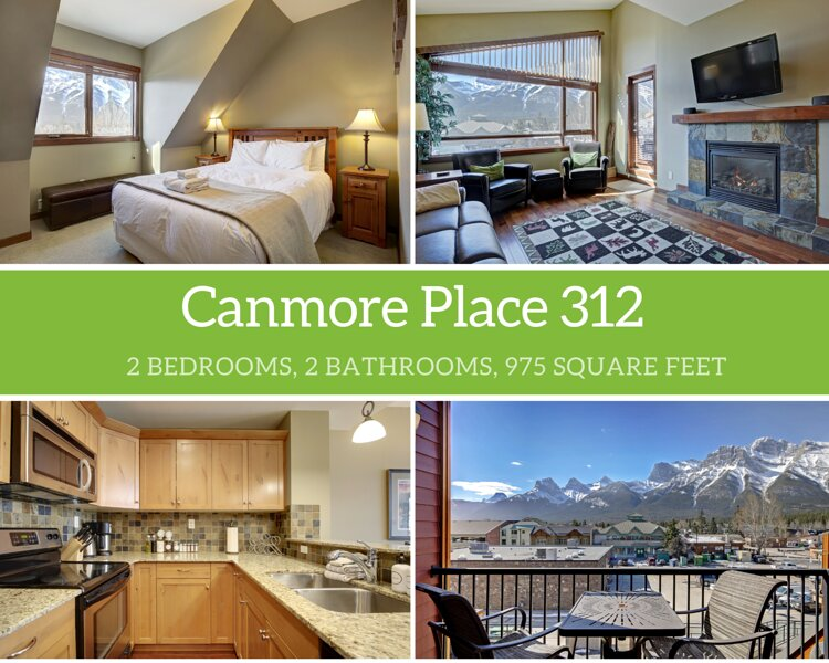 Canmore Place 312, alquiler vacacional en Banff