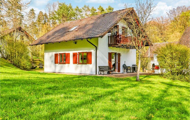 Beautiful home in Kirchheim with Sauna, WiFi and 4 Bedrooms (DHE217), vacation rental in Oberaula