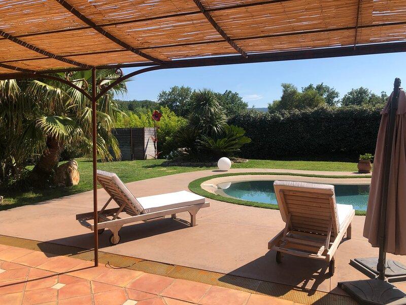superbe villa  golfe de Saint-Tropez, alquiler vacacional en Port Cogolin
