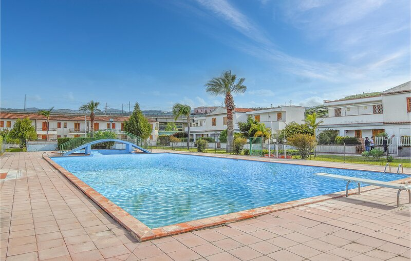 Stunning home in Furnari with Outdoor swimming pool, WiFi and 1 Bedrooms (ISP226, holiday rental in Castroreale