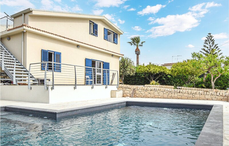 Stunning home in Pescazze with Outdoor swimming pool, WiFi and 2 Bedrooms (ISR38, holiday rental in Pellegrino