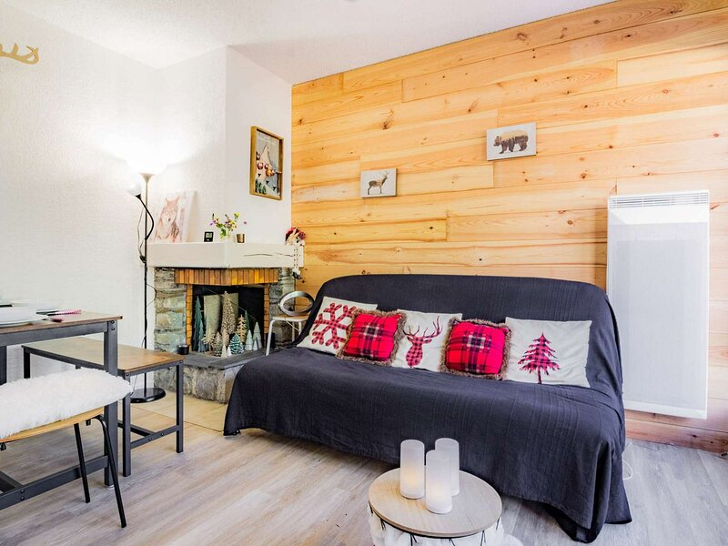 T2 CABINE PYRENEES SOLEIL - Appartement cosy avec terrasse, holiday rental in Viey