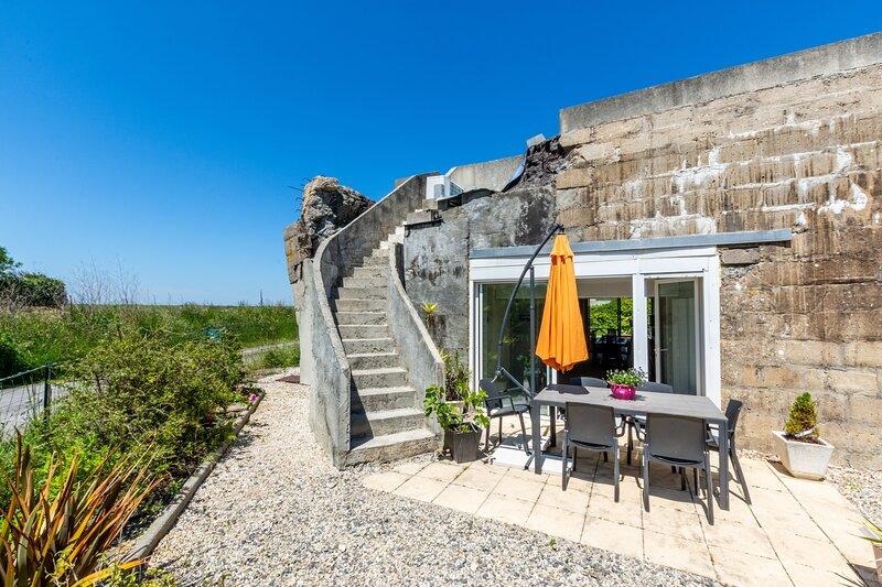 Blockhaus 44 - vue mer - séjour atypique, location de vacances à Ver-sur-Mer