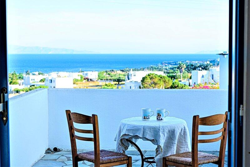 Paros Hidden Gem - Seaview Cycladic Escape, holiday rental in Nea Chryssi Akti