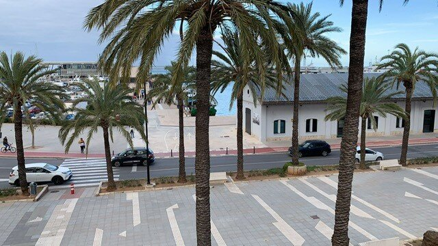 Increible casa de pueblo en frente del mar, location de vacances à Denia