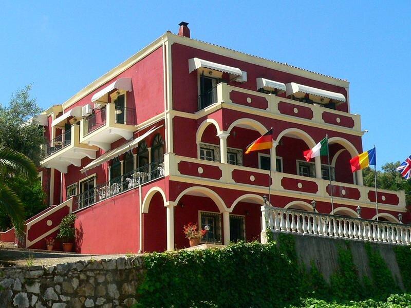 Apraos Bay Hotel In Kalamaki Beach, a nice view over the whole Apraos Bay, holiday rental in Ágios Ilías