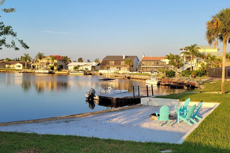 NEW! Waterfront Pool Home w/ Beach & Gulf Access!, holiday rental in Port Richey
