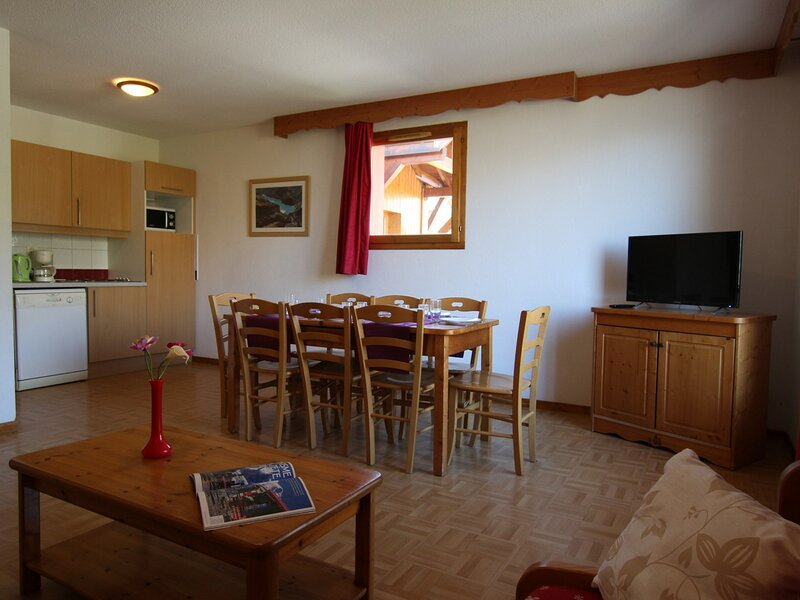 Appartement - 3 pièces - 8 personnes - Puy Saint Vincent 1800, holiday rental in Freissinieres