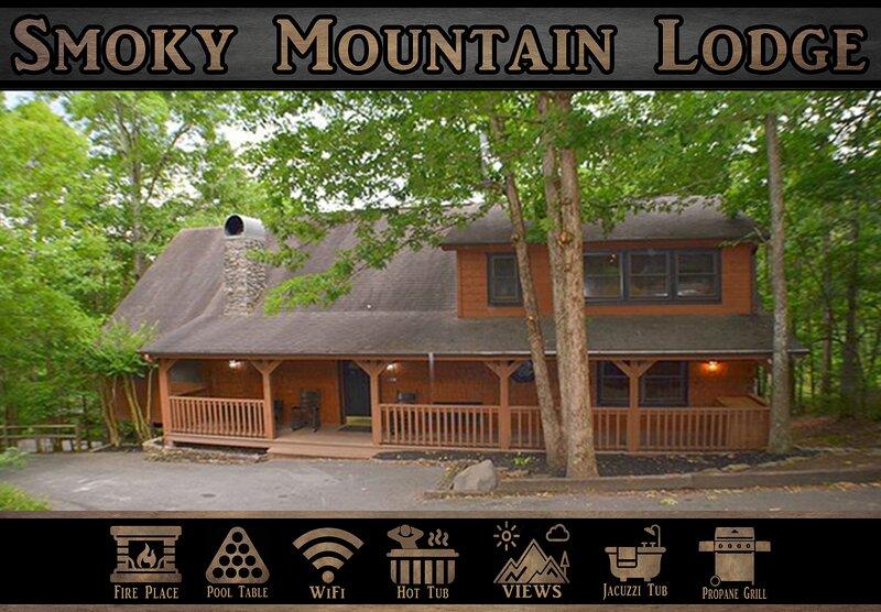 Smoky Mountain Lodge, vakantiewoning in Sevierville