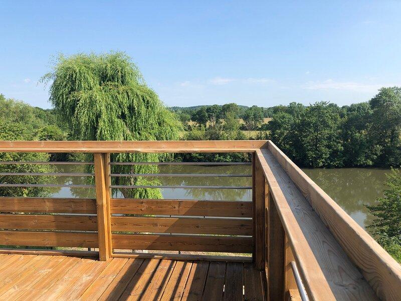 La Terrasse du Loir, location de vacances à Malicorne-sur-Sarthe