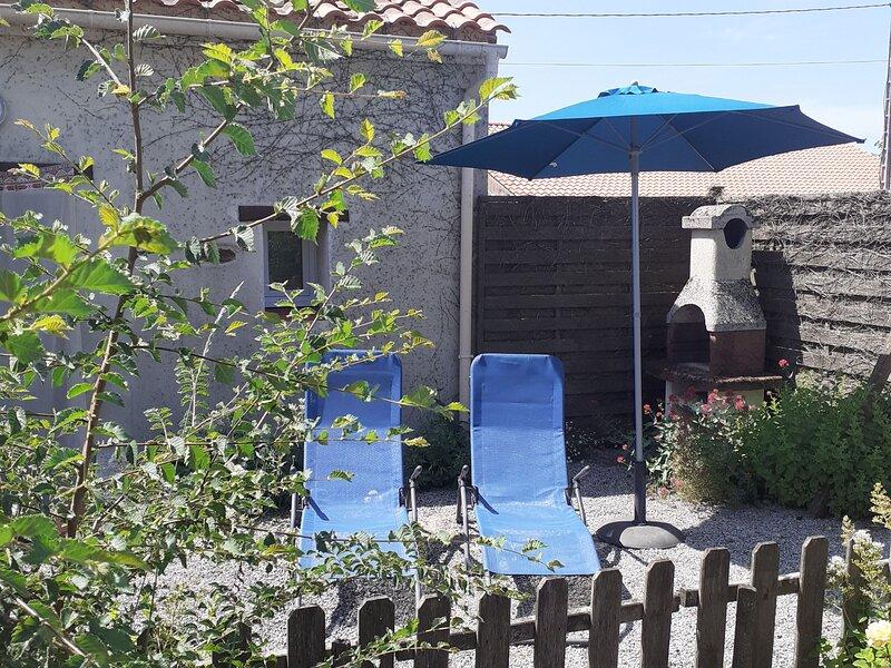 Location Gîte Le Fenouiller, 2 pièces, 2 personnes, location de vacances à Commequiers