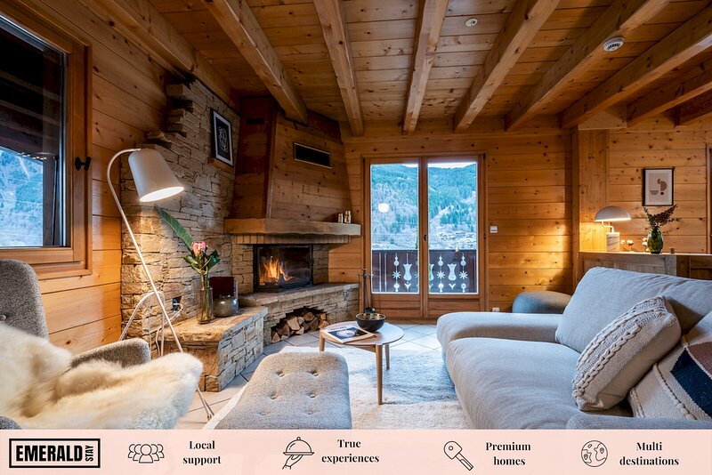 DOUX ABRI - Charming Chalet with Hot tub and Sauna, holiday rental in Montriond