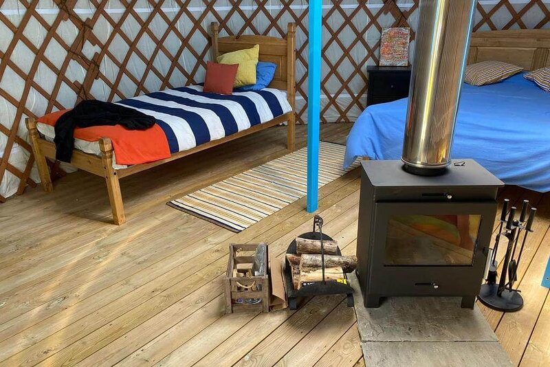 12 Sycamore Yurt, holiday rental in Colan