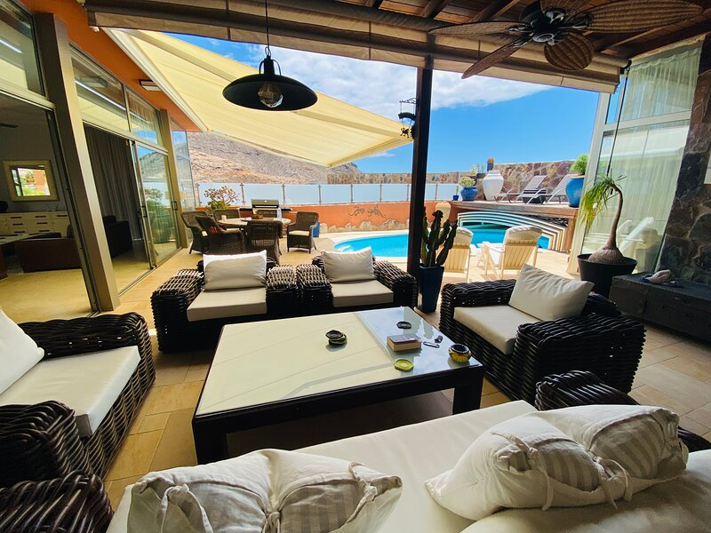 Villa Nicholas at Anfi Opal, holiday rental in La Playa de Tauro
