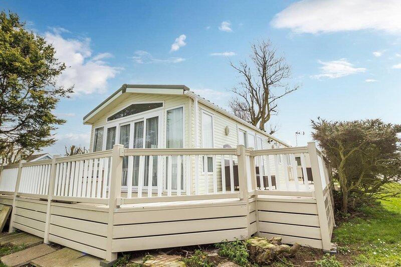 Luxury caravan nearby the beautiful Scratby beach in Norfolk ref 50001A, alquiler de vacaciones en California