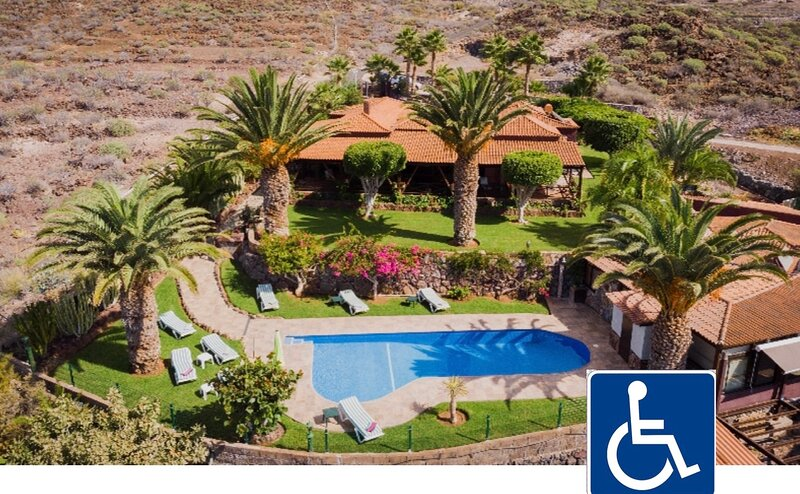 Casa con vistas espectaculares al mar y a La Gomera., alquiler de vacaciones en Alcalá