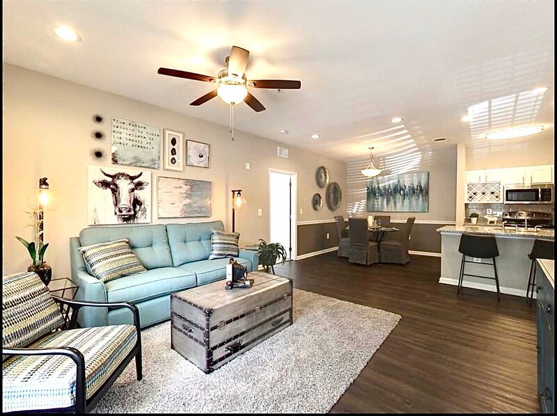 New designer gated w/lakeview modern near Cecil field, holiday rental in Orange Park