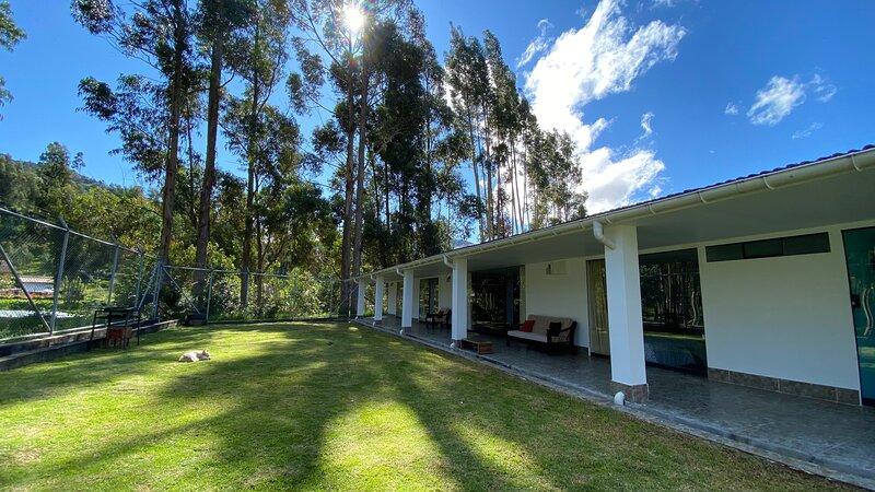 Casa campo 'María Eugenia', vacation rental in Cajamarca Region