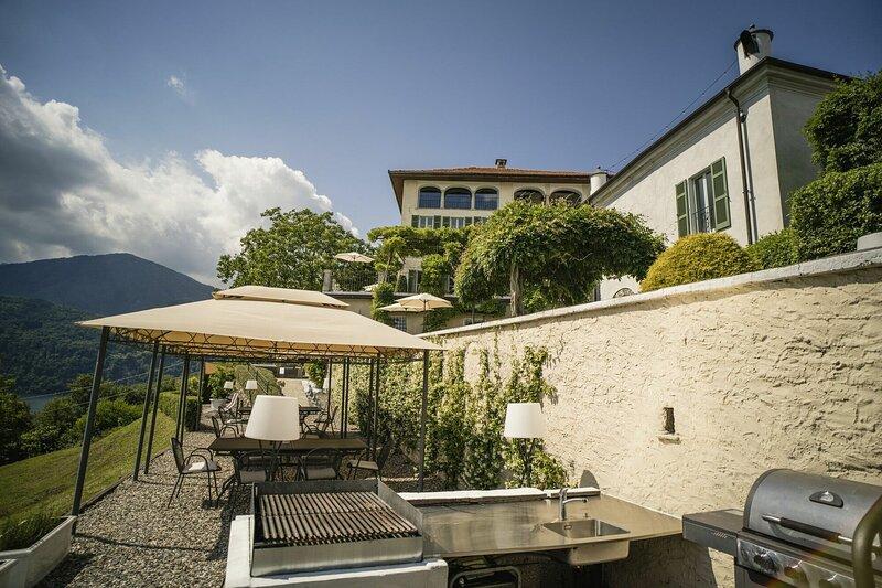 Villa Riflesso Di Luna, location de vacances à Varallo