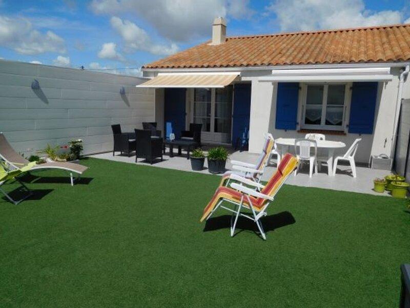 Maisonnette proche du centre bourg, location de vacances à L'Aiguillon-sur-Mer
