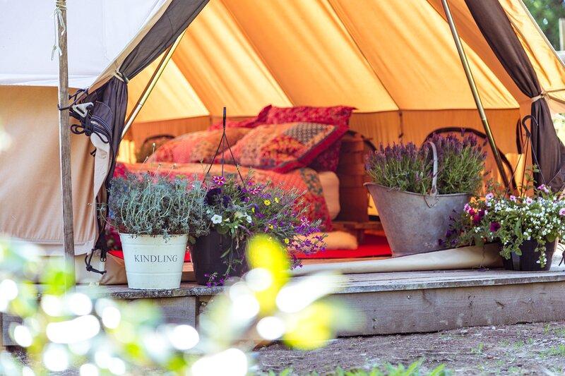 Cowslip Bell Tent, alquiler vacacional en Ash Mill