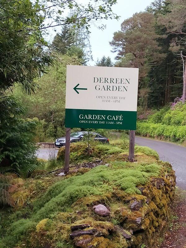 Derreen garden and Cafe. 2 klms away.