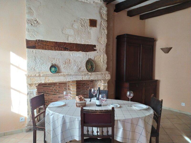 Magnifique gîte 2** 40m2 entre le Château et le Clos Lucé, holiday rental in Nazelles