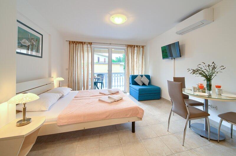 Apartments Ivica in Silo on Krk island - Studio A6, alquiler de vacaciones en Silo
