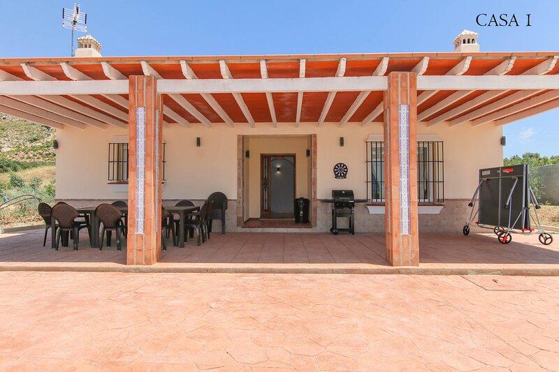 Villa Ballesteros, alquiler vacacional en Cartama
