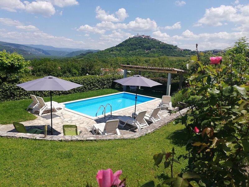 House Valentino Motovun, holiday rental in Motovun