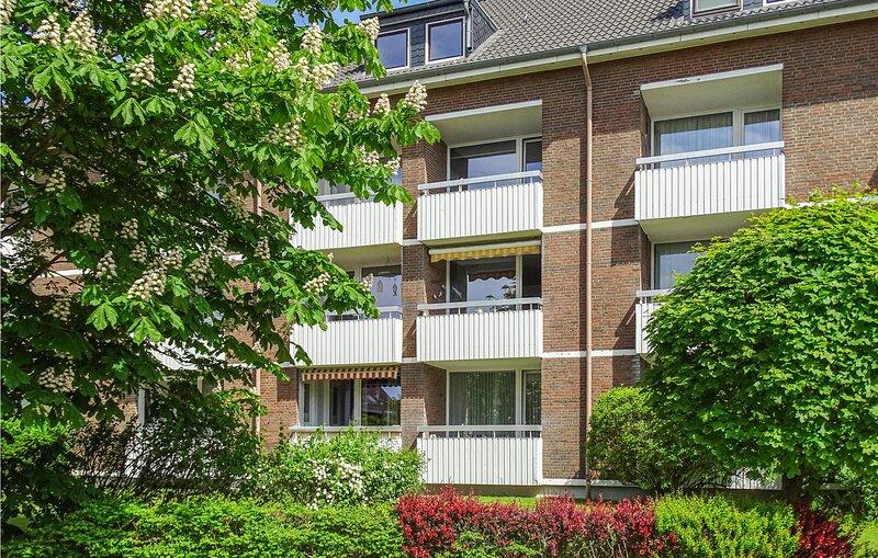 Beautiful apartment in Büsum with WiFi and 1 Bedrooms (DSL101), alquiler de vacaciones en Büsum
