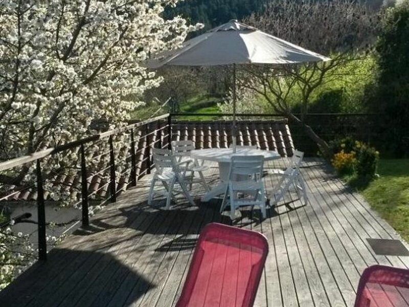 Le Mounet, holiday rental in Lavoute-Chilhac