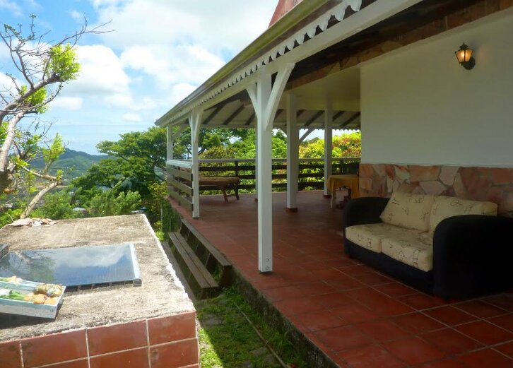 Beautiful house with sea view, holiday rental in Saint-Esprit