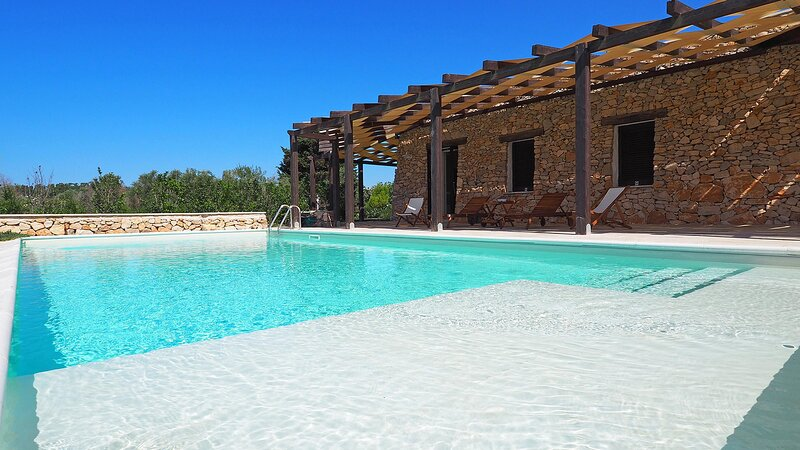 Villa Leonida - Ugento, location de vacances à Felline