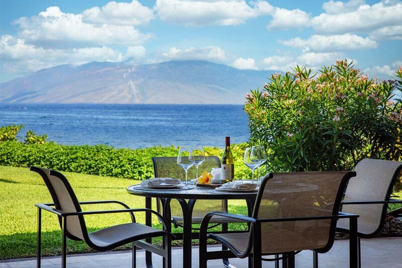 Breathtaking Views -Remodeled Ocean Front Condo - Makena Surf Resort F-110, holiday rental in Makena
