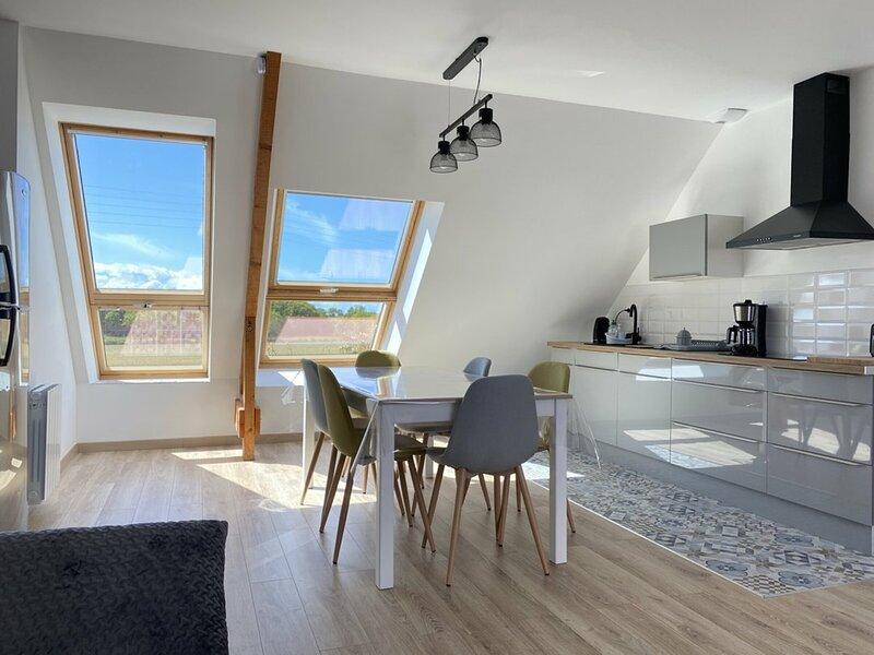 A FREHEL, appartement de 45m² très lumineux, location de vacances à Frehel